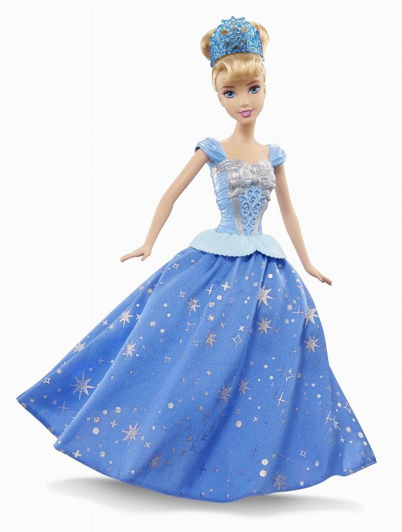 Кукла Disney Princess Золушка Cinderella с развивающейся юбкой