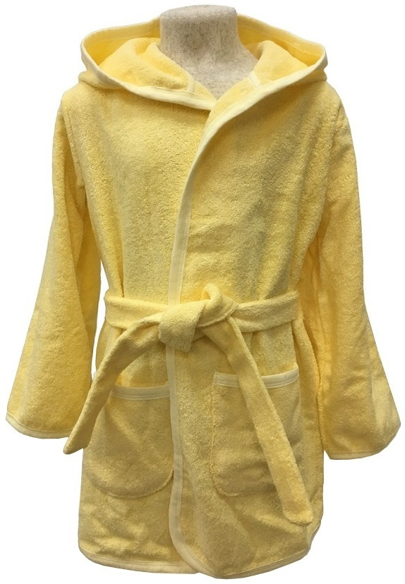Детский халат Allini желтый футболка allini kids allini kids