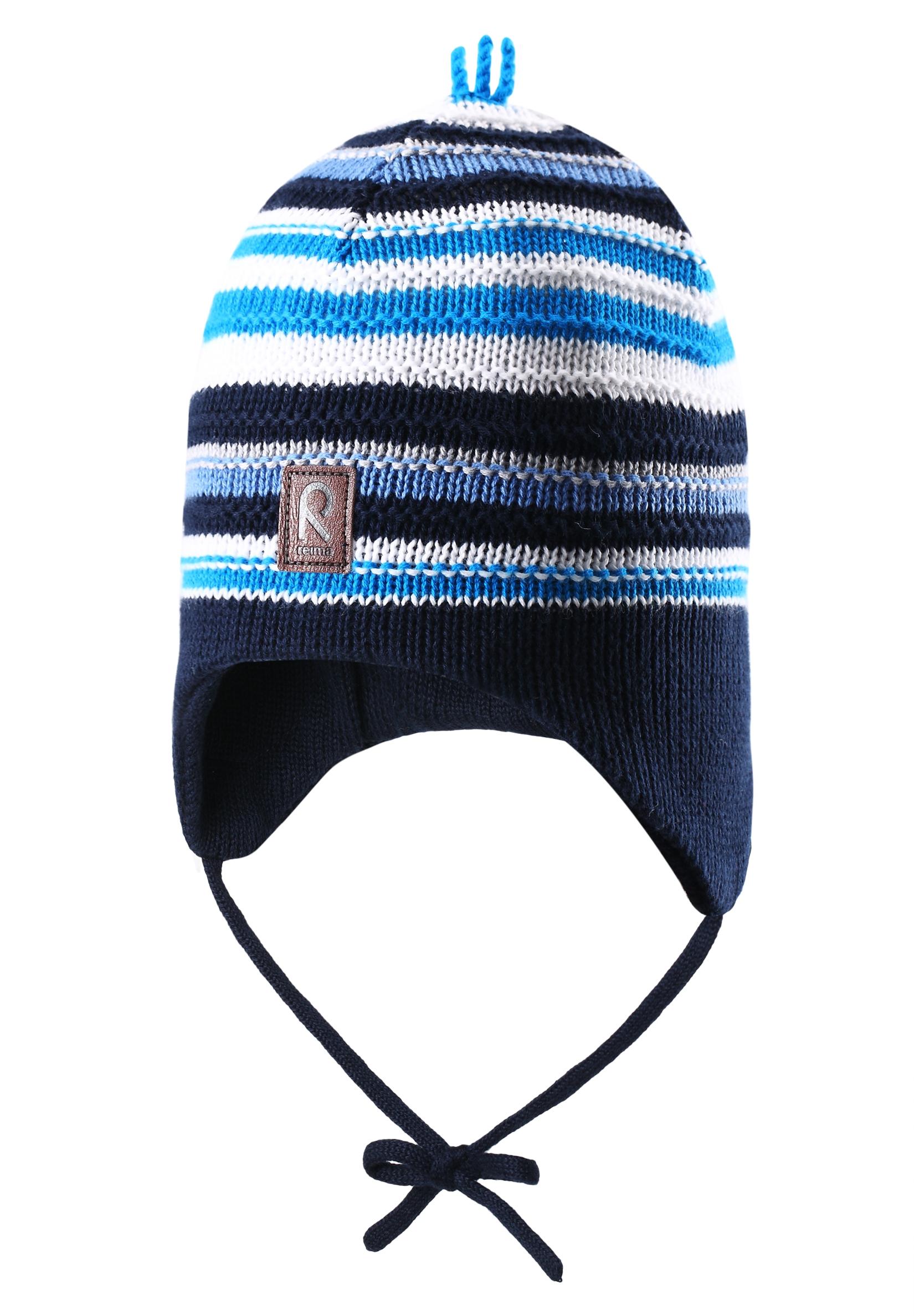Фото - Головные уборы Reima Шапка для мальчика Beanie, Beetroot navy, синяя active cut out elastic vest in navy