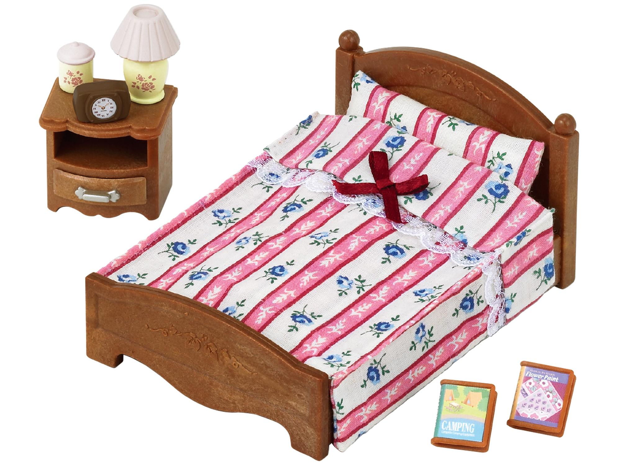 SYLVANIAN FAMILIES Большая кровать и тумбочка yierman кровать чистое постельное белье из хлопка кровать обложка кровать
