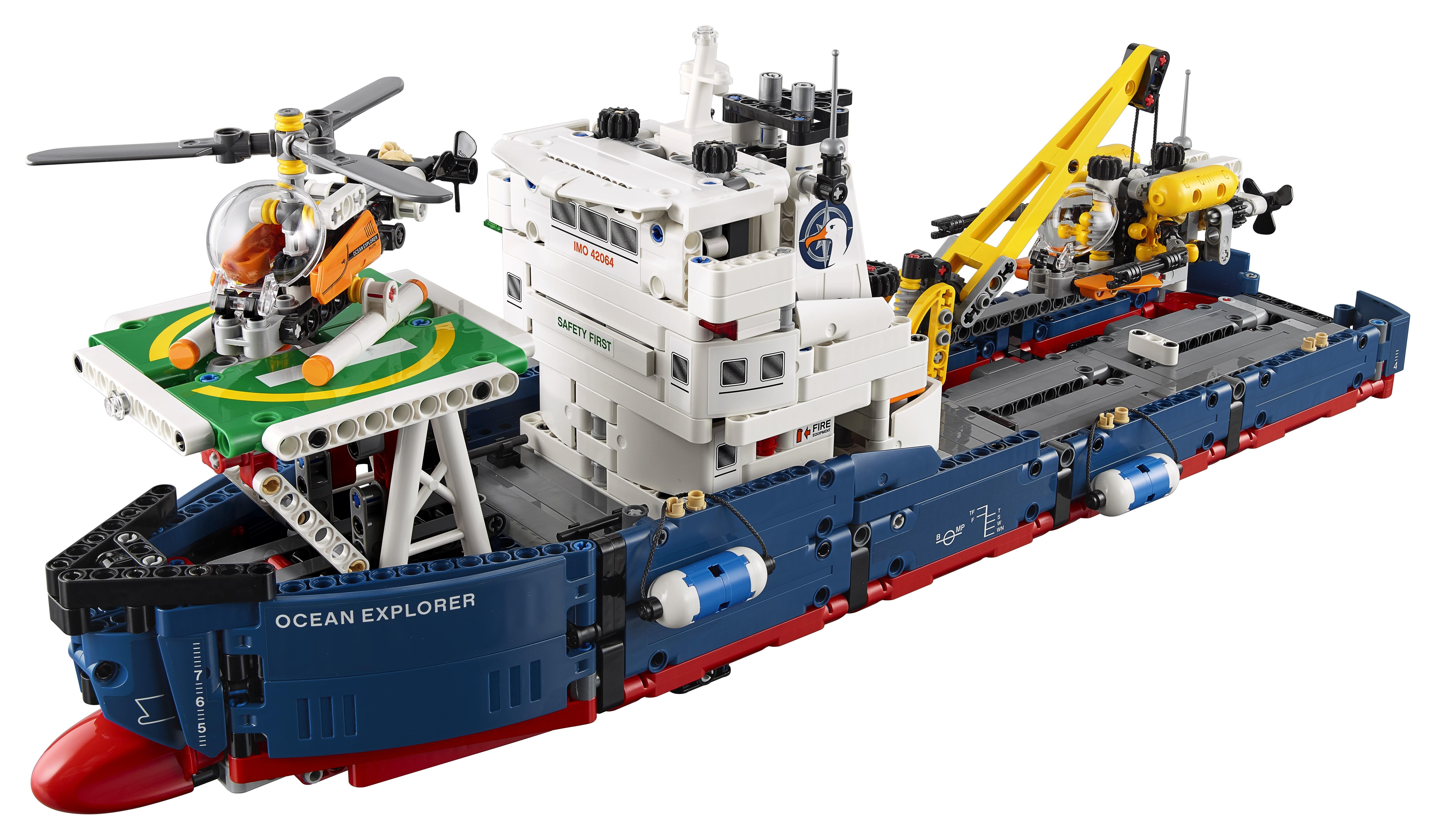 Купить Конструктор, Technic 42064 Исследователь океана, 1шт., LEGO 42064, Дания