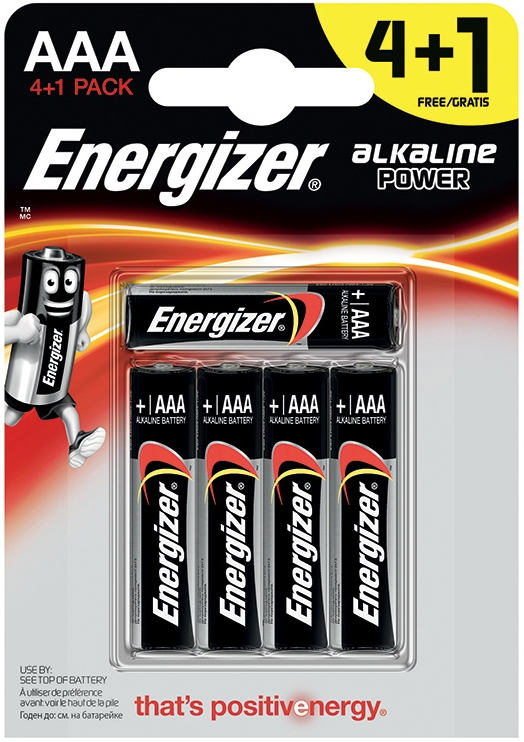 Батарейки и аккумуляторы Energizer Alkaline Power