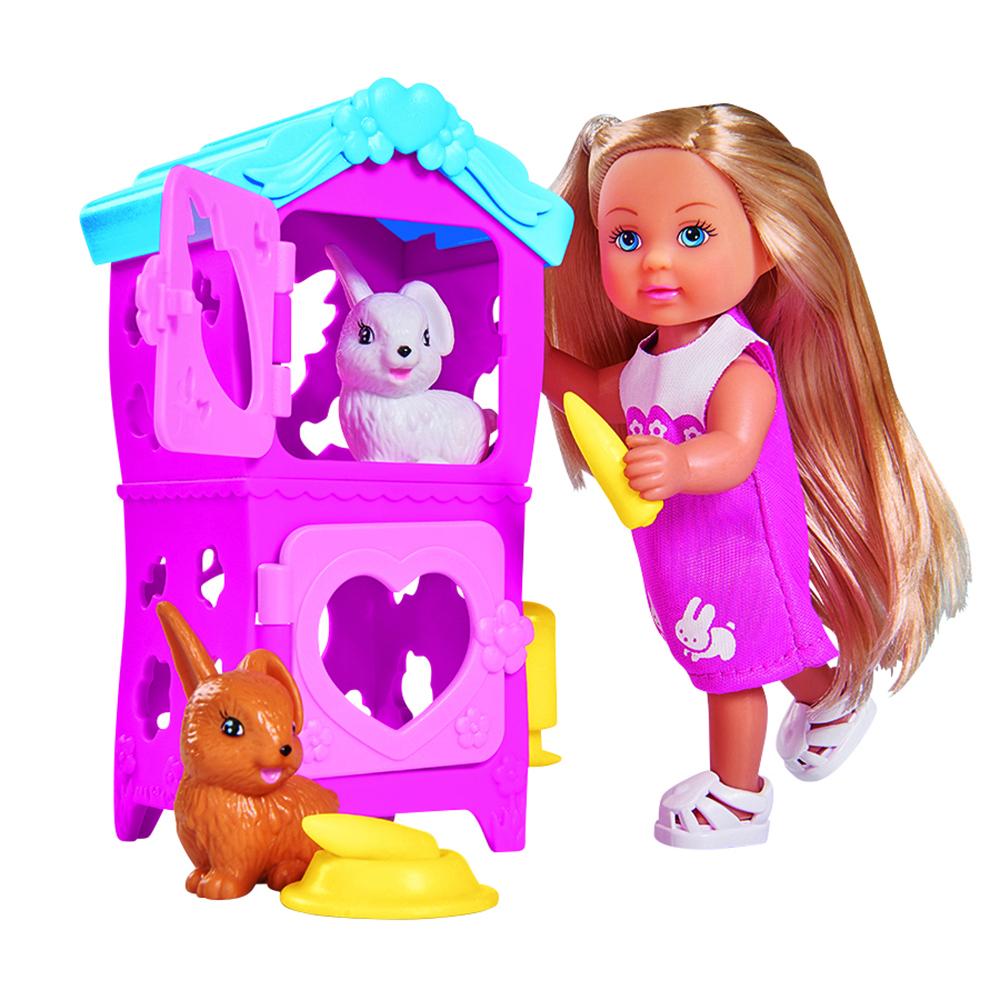 цена на Кукла simba Еви с кроликами