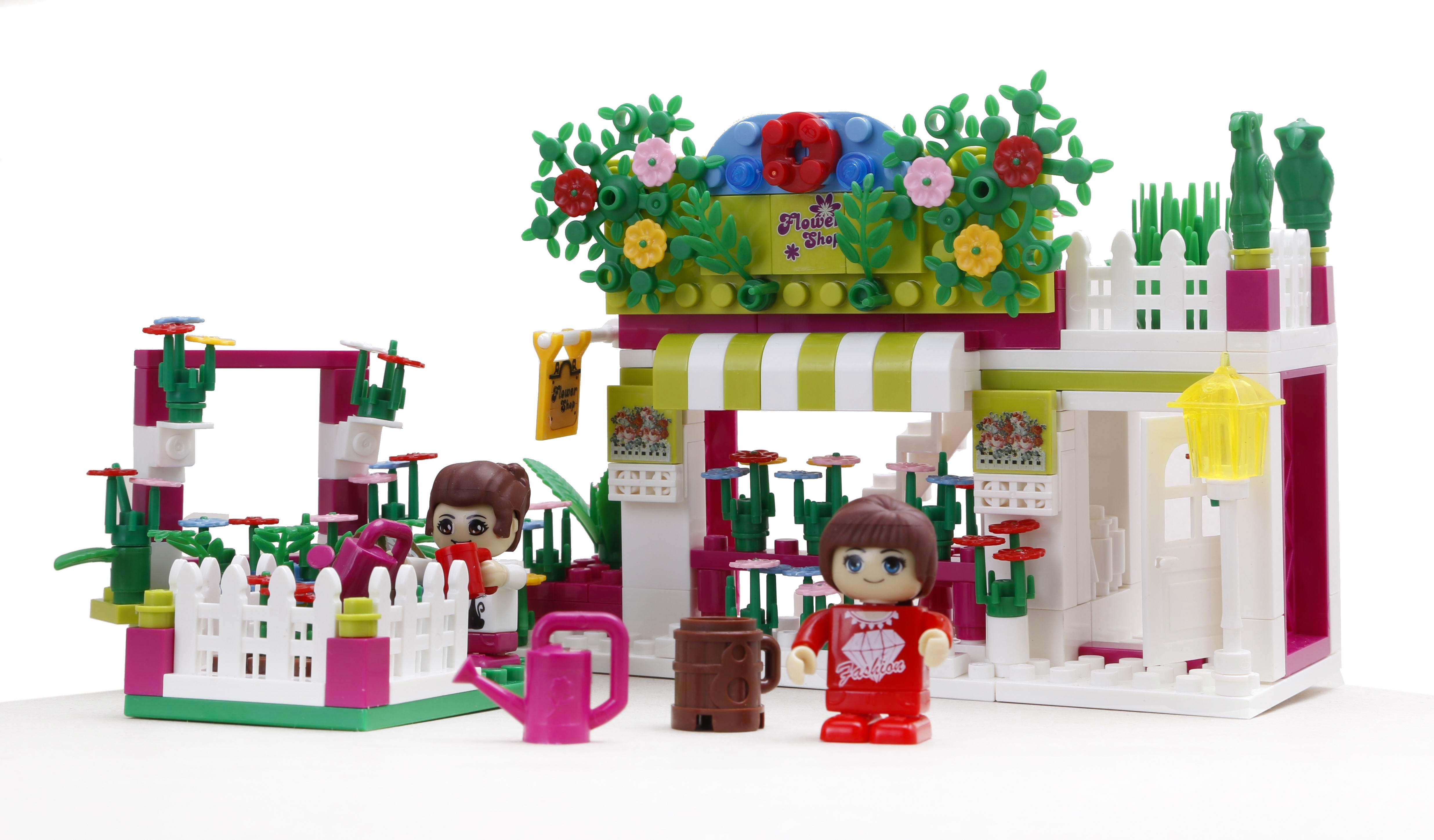 Конструктор Banbao Цветочный магазин конструктор banbao цветочный магазин 252 дет 6116