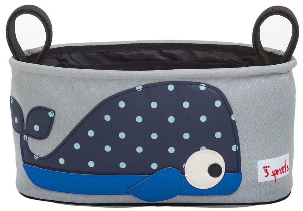 Аксессуары для колясок 3 Sprouts Сумка-органайзер для коляски 3 Sprouts «Blue Whale» 45 pcs pack animal blue whale fish mini paper sticker diary decoration diy scrapbooking label seal sticker stationery