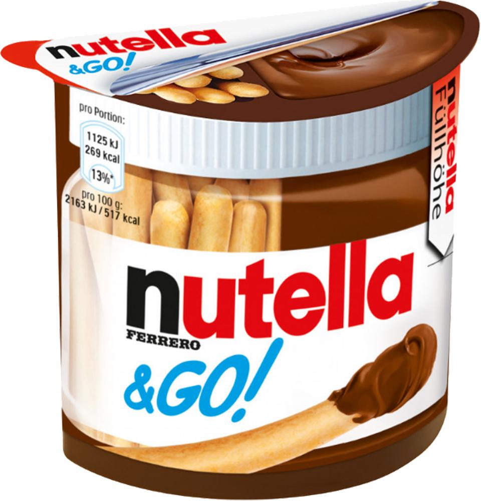 Ореховая паста Nutella Nutella & GO шоколадная паста nutella 350г