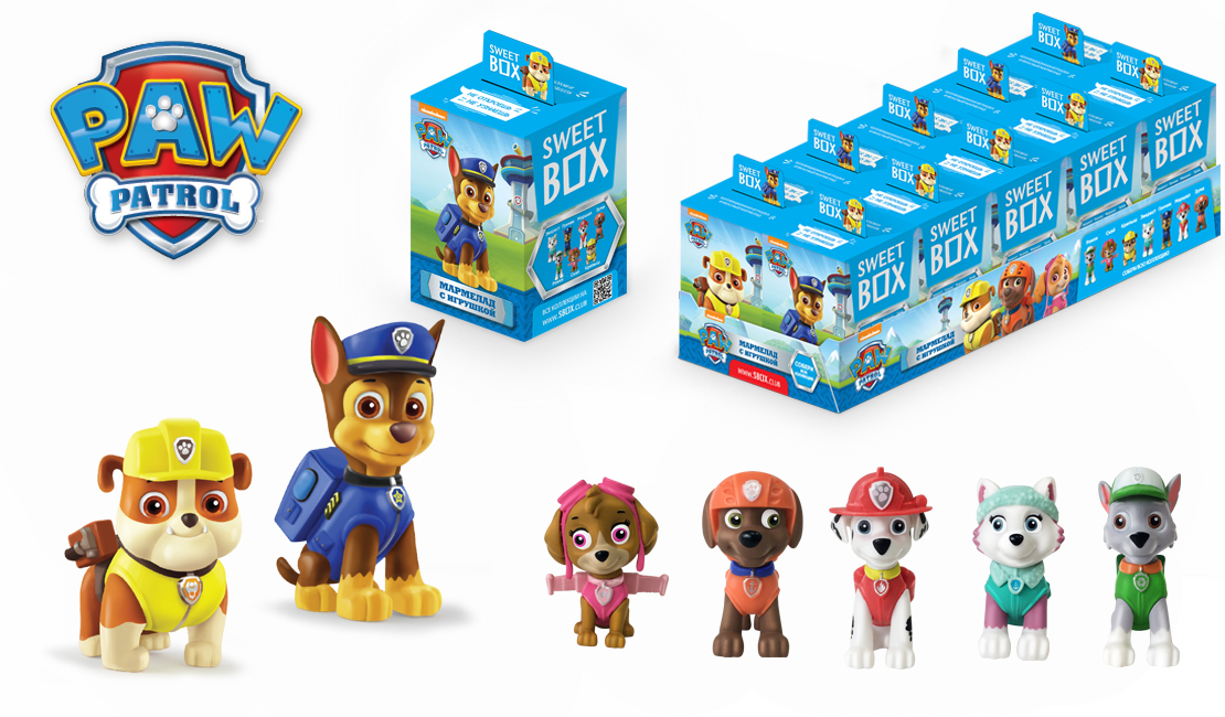 Paw Patrol Sweet box Мармелад с игрушкой Sweet box «Paw Patrol» 10 г sweet sweet the rainbow sweet live in the uk new vinyl edition 2 lp