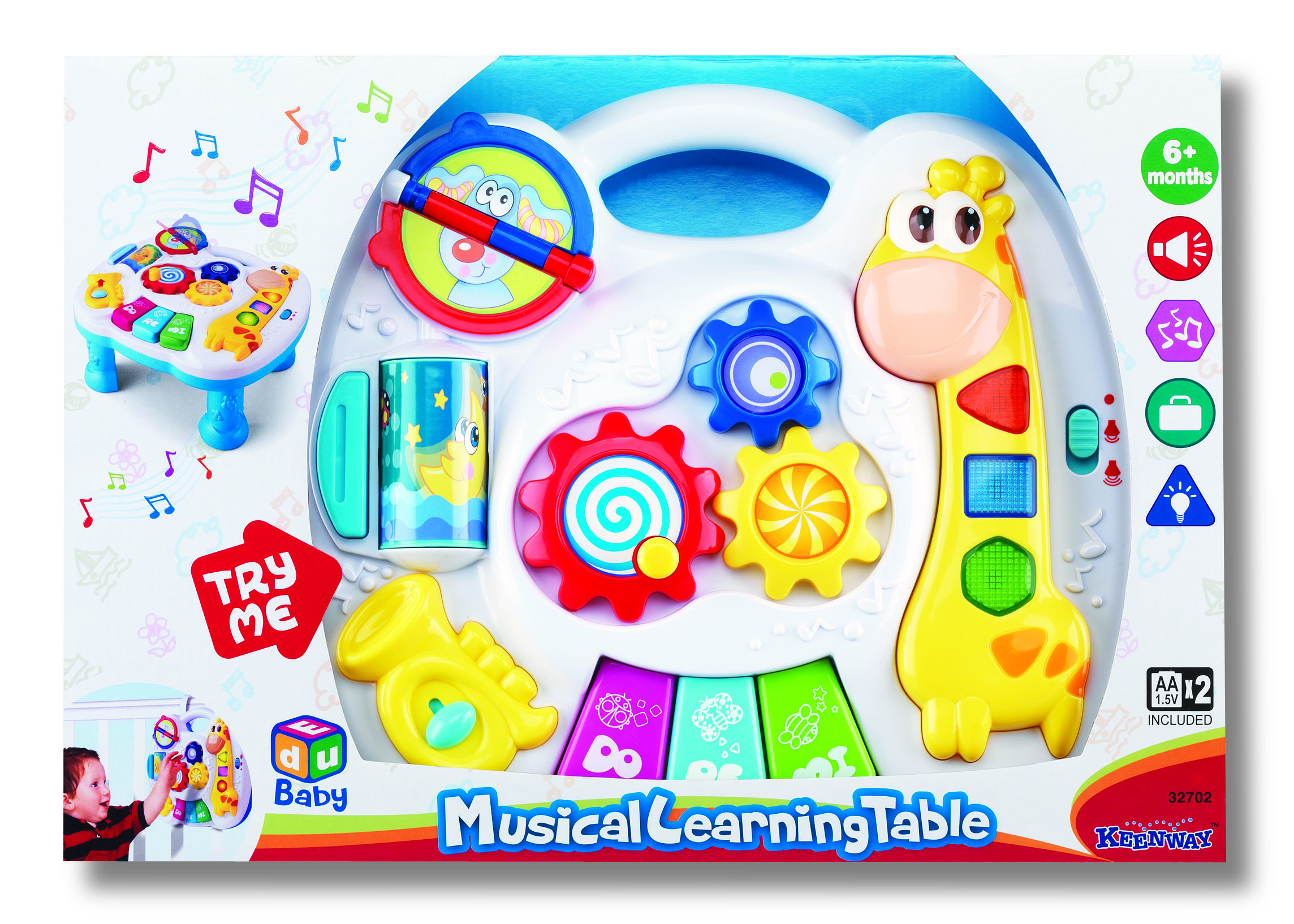 Обучающие Keenway Музыкальный развивающий столик Keenway ноутбук развивающий первые открытия обучающие игры