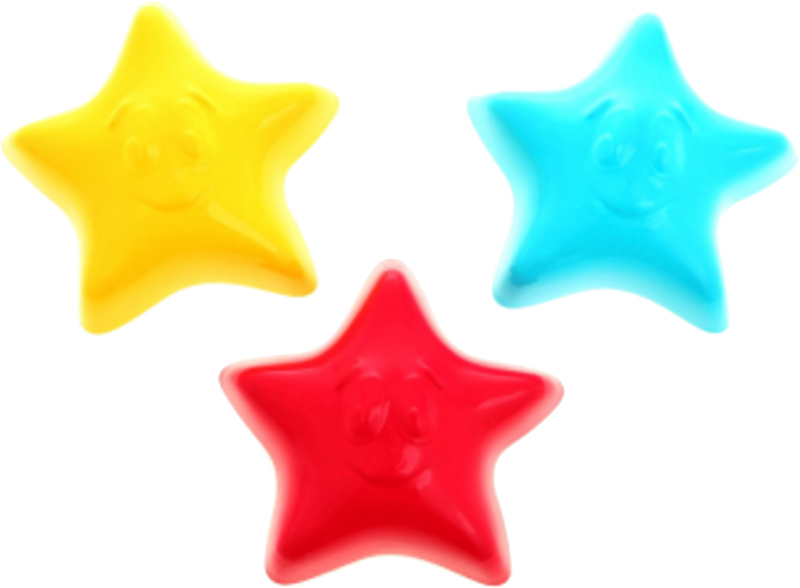 Купить Игрушки для песка, Рославльская игрушка «Три звезды», РосИгрушка, Россия, в ассортименте
