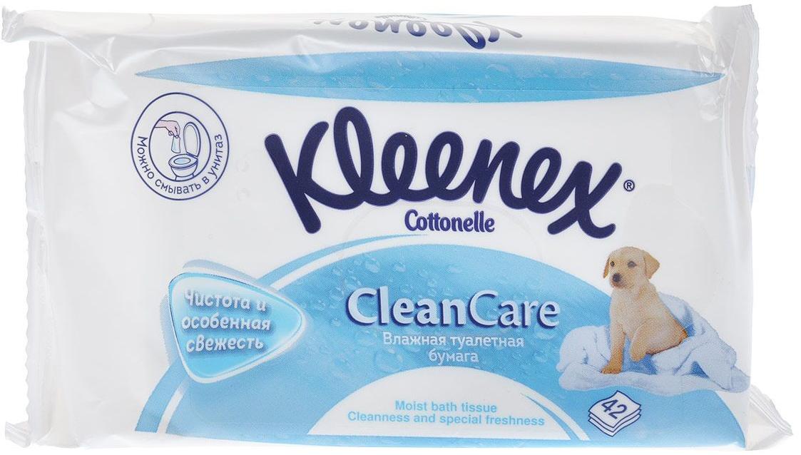 Прокладки  салфетки Kleenex Влажная туалетная бумага  сменный блок