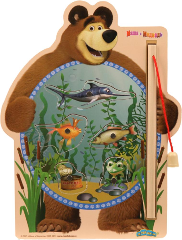 Настольные игры Маша и Медведь Маша и Медведь: Рыбалка ролевые игры bondibon набор машин театр зимушка зима маша и медведь