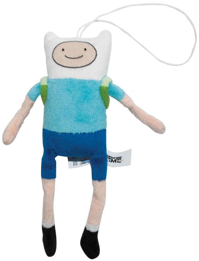 Игрушка мягкая Adventure Time брелок Финн