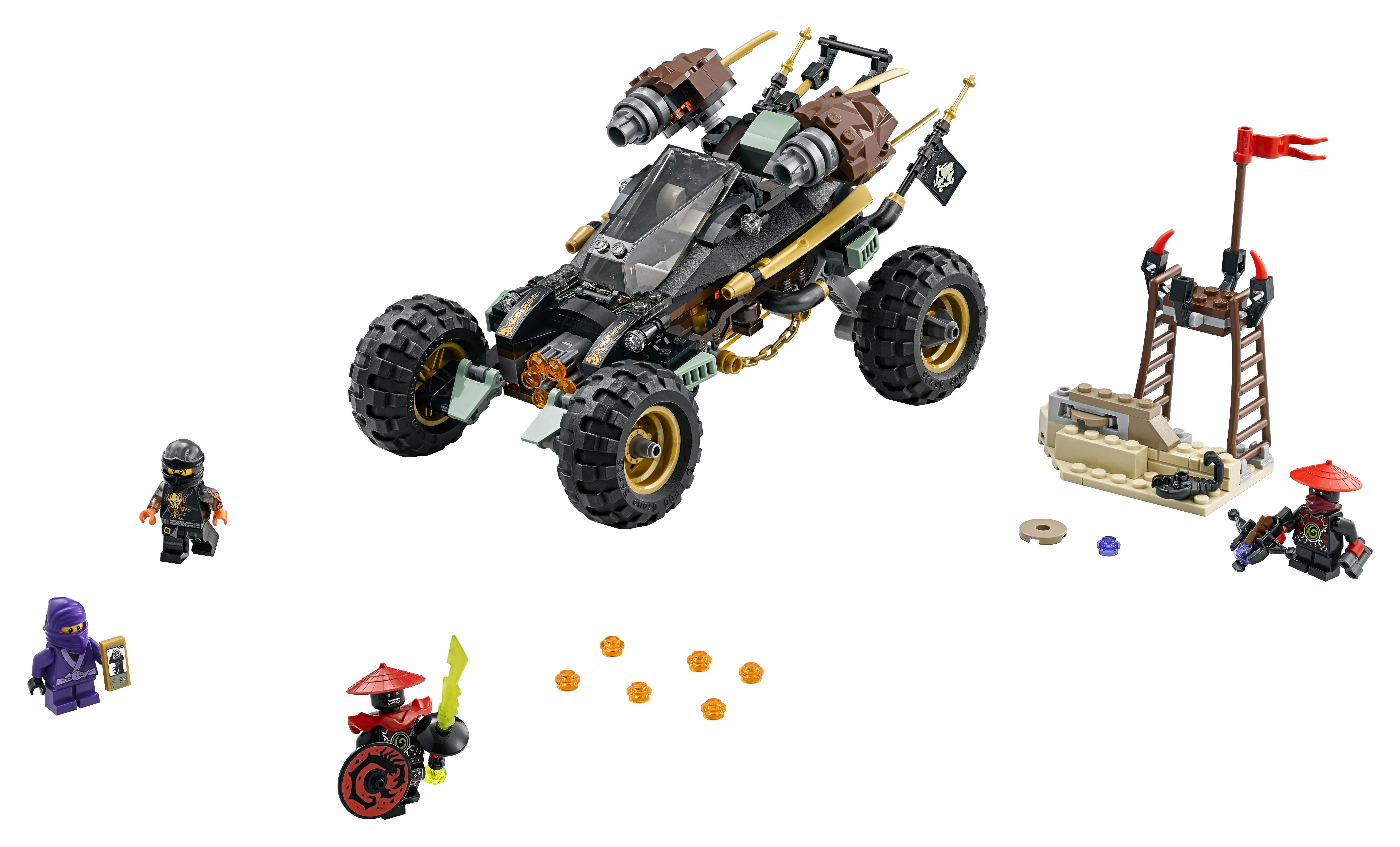 LEGO LEGO 70589 Горный внедорожник конструктор lego ninjago 70589 горный внедорожник