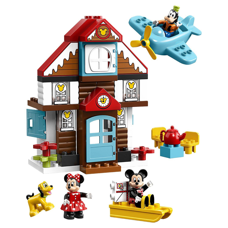 Фото - Конструктор LEGO DUPLO Disney 10889 Летний домик Микки lego duplo disney катер микки 10881