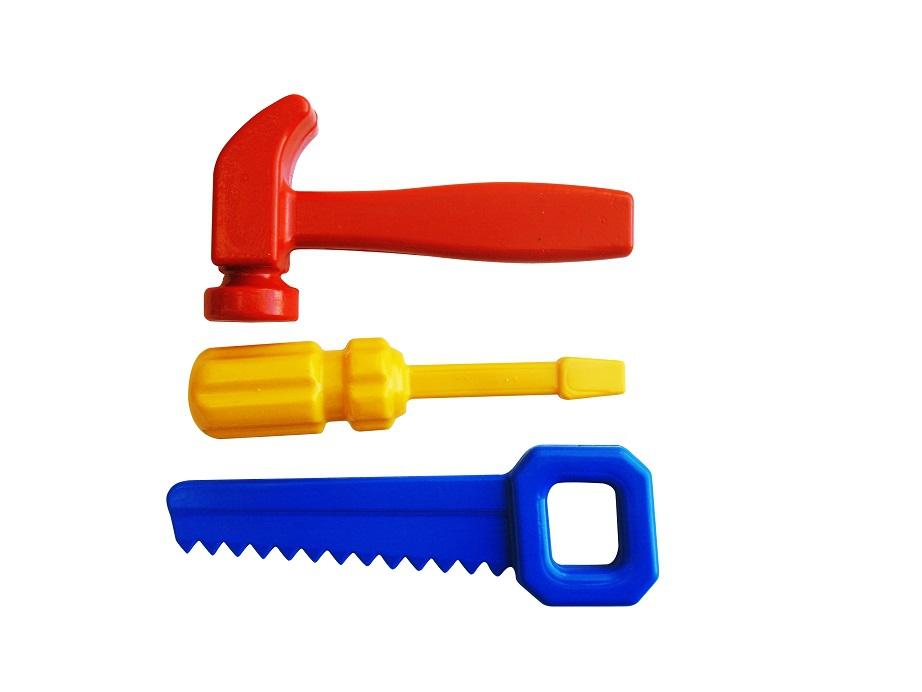 Наборы игрушечных инструментов Пластмастер Игровой набор Пластмастер «Набор инструментов плотник» boley игровой набор инструментов 7 шт boley