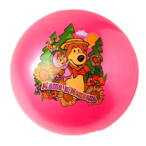 Мячи Маша и Медведь Мяч Играем вместе «Маша и медведь» 23 см в асс.