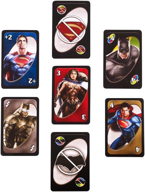 Развлекательные игры Uno Бэтмен против Супермена - Настольные игры