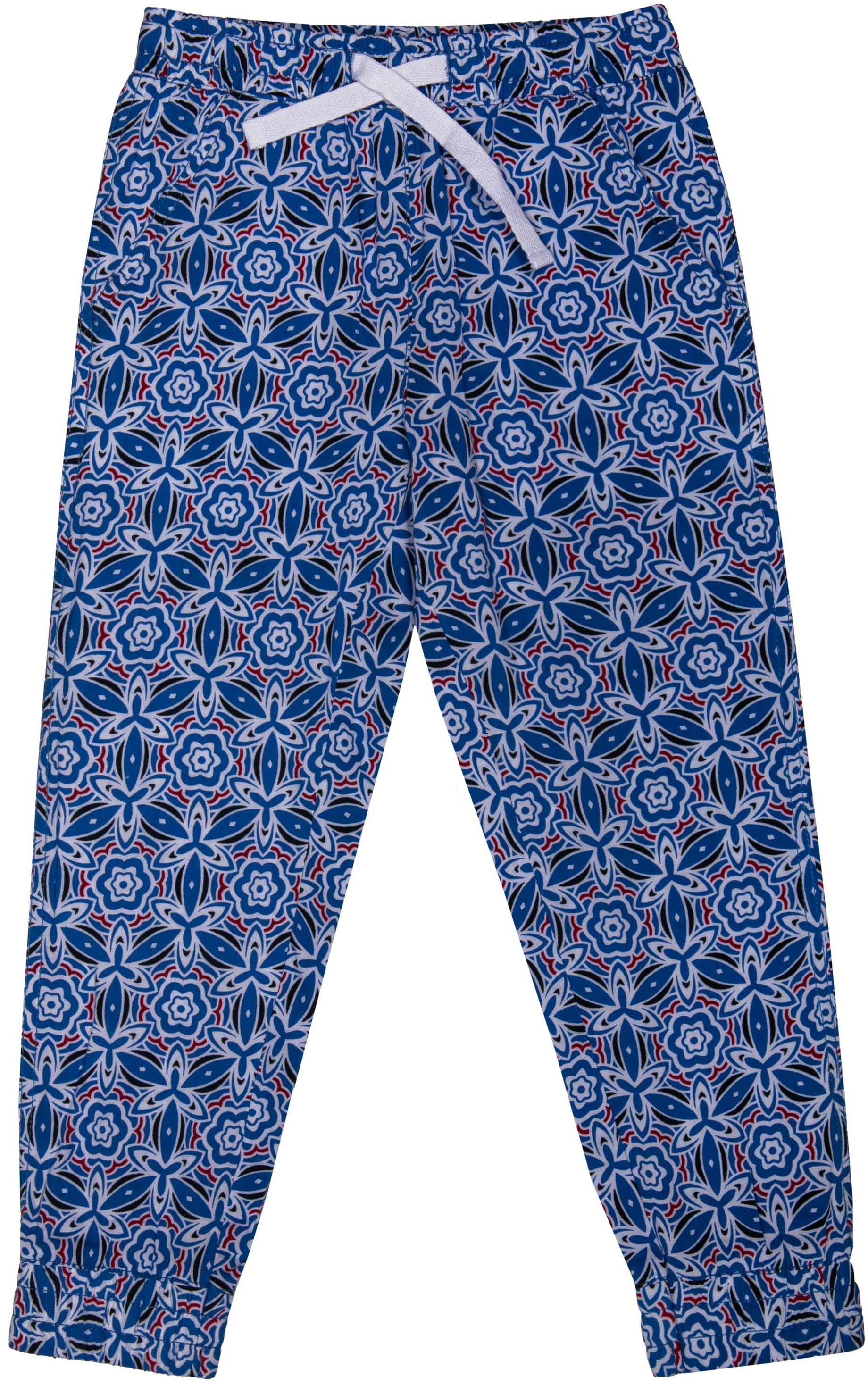Брюки Barkito Фантазия S18G3014W(1) брюки для девочки barkito фантазия голубые с рисунком
