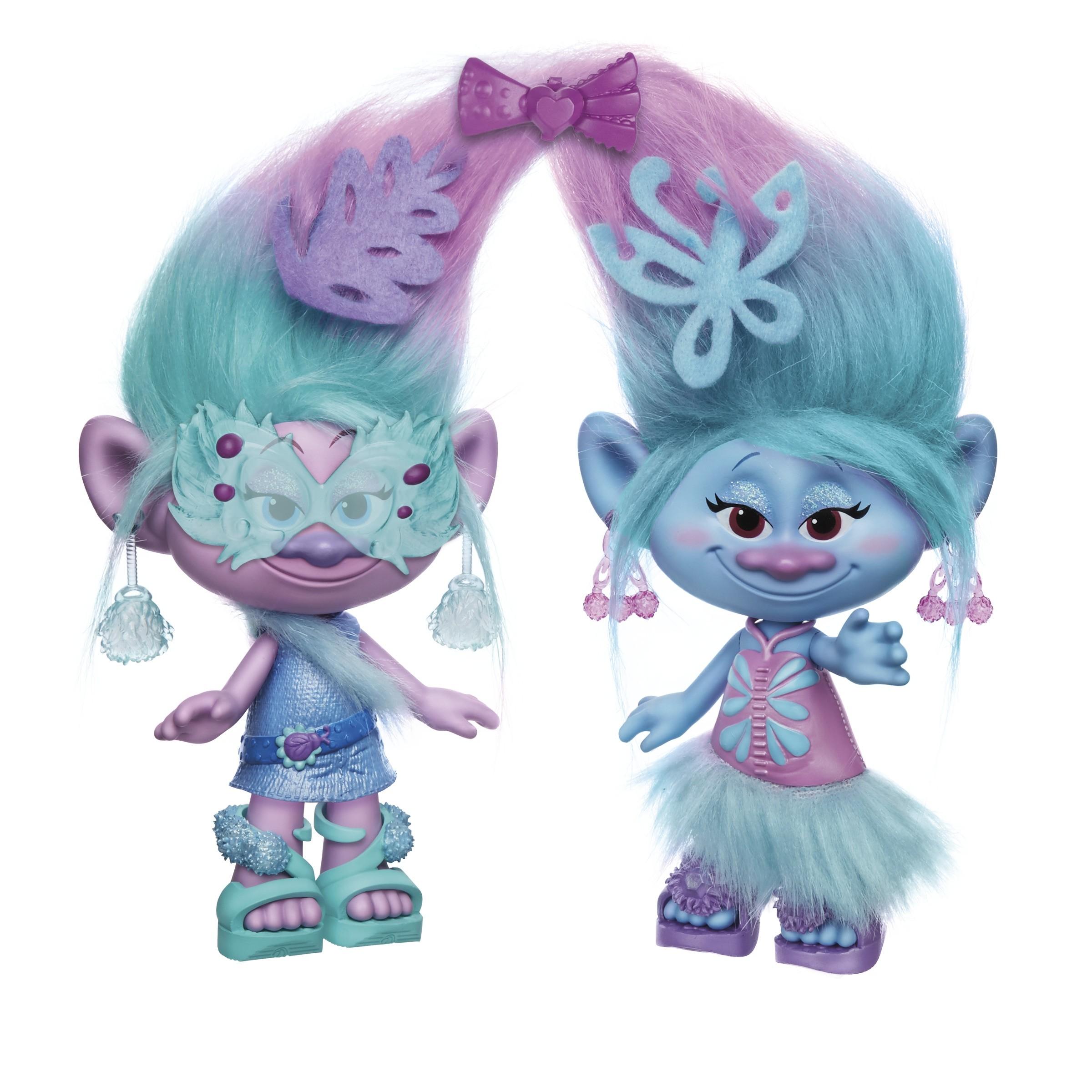 Фигурка Hasbro Модные близнецы hasbro игровой набор hasbro trolls волшебное дерево троллей