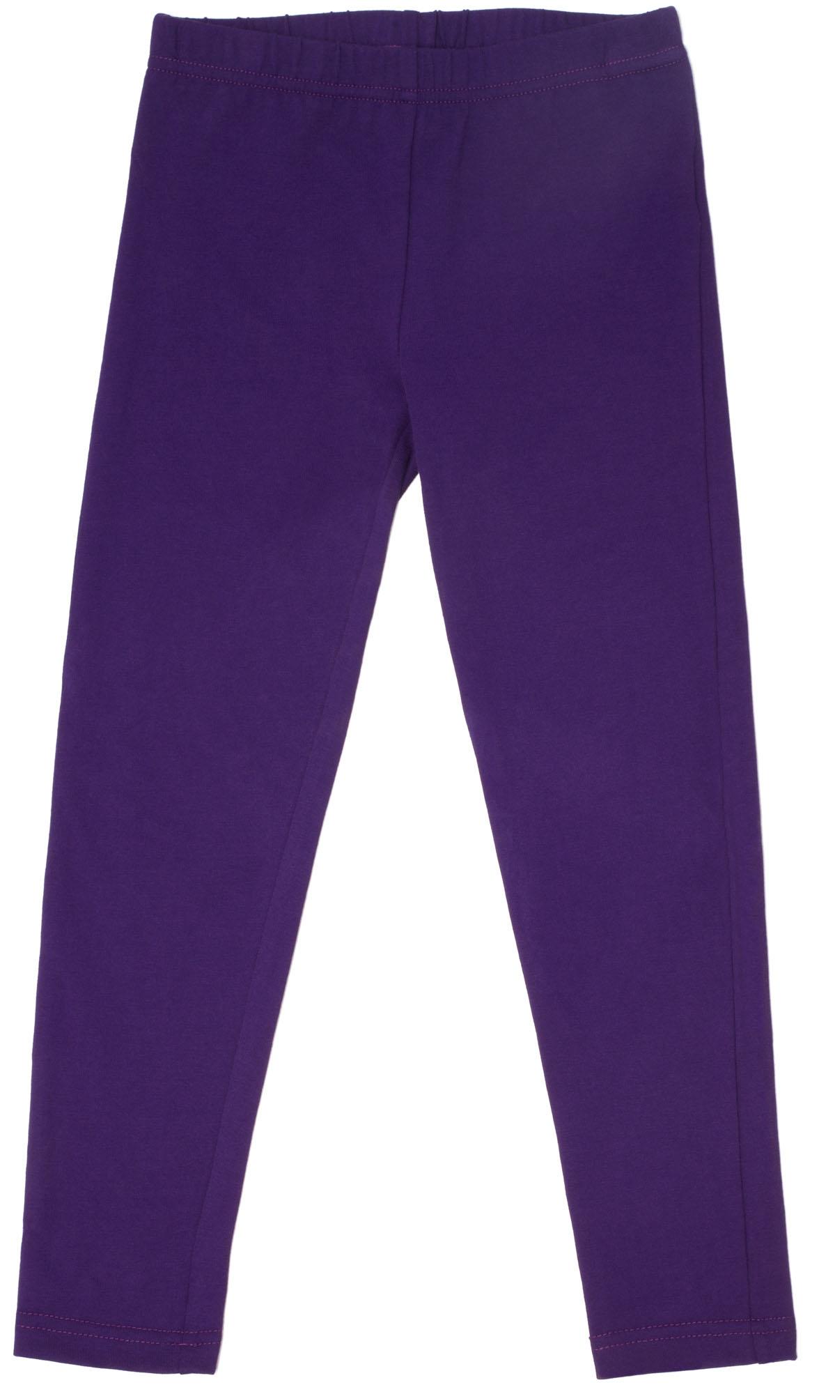 Купить Легинсы, Леггинсы для девочки Спорт Barkito фиолетовый, Узбекистан, в горошек, Женский