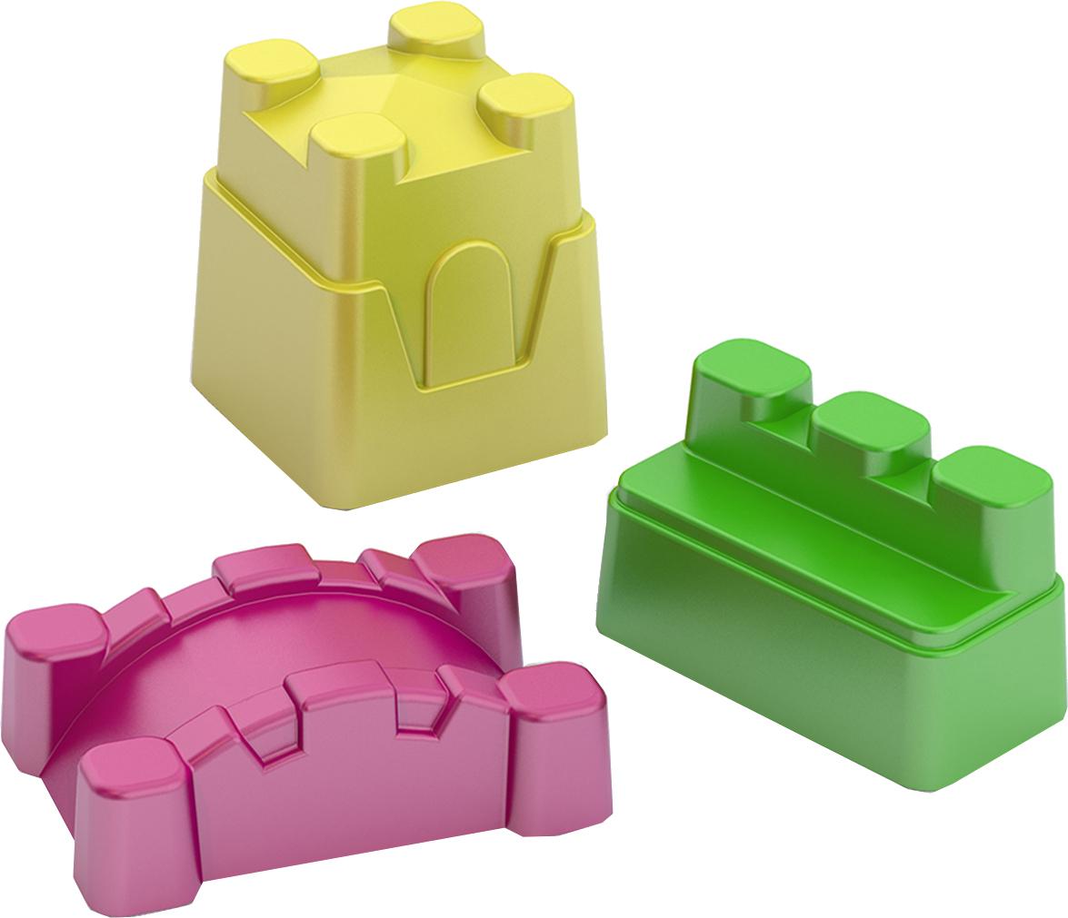 формочки игрушечные нордпласт формочка игрушечная Формочки Нордпласт «Крепость» 3 шт