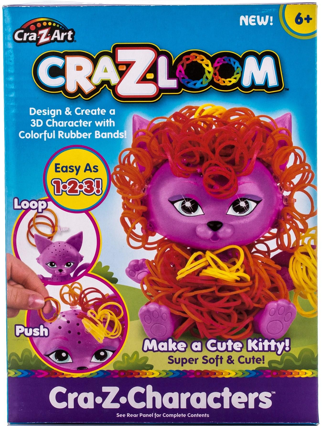 Наборы для творчества Cra-Z-Loom Набор для творчества Cra-z-Loom «Котик» набор цветных резинок для плетения фенечек loom twister sv11757