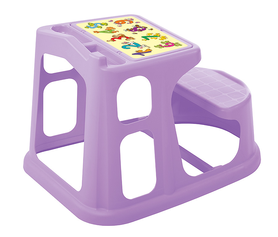 Столы и стулья Пластишка 73х55 см сиреневая стол детский пластишка салатовый 42 5х38х52 5 см