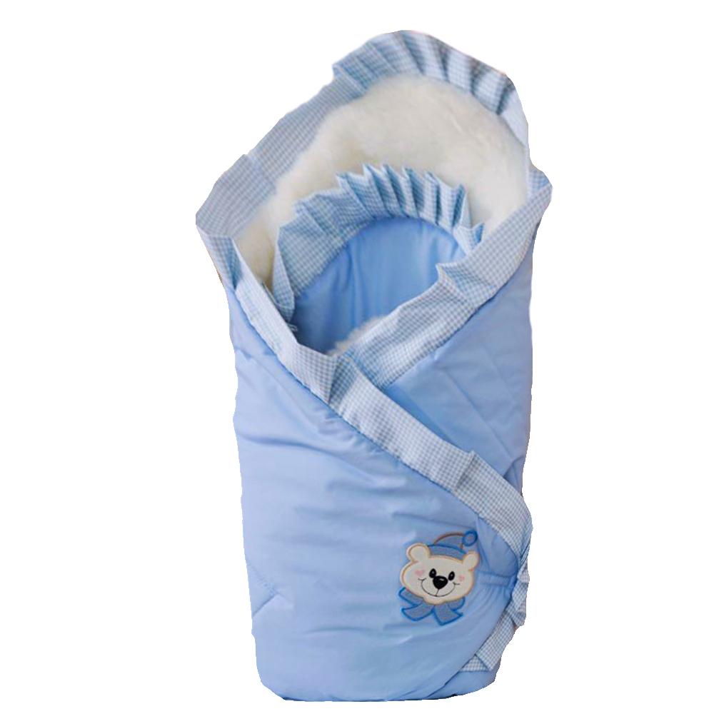 Одеяло на выписку Арго Мишка конверт на выписку супермамкет justcute совы зима флис бант