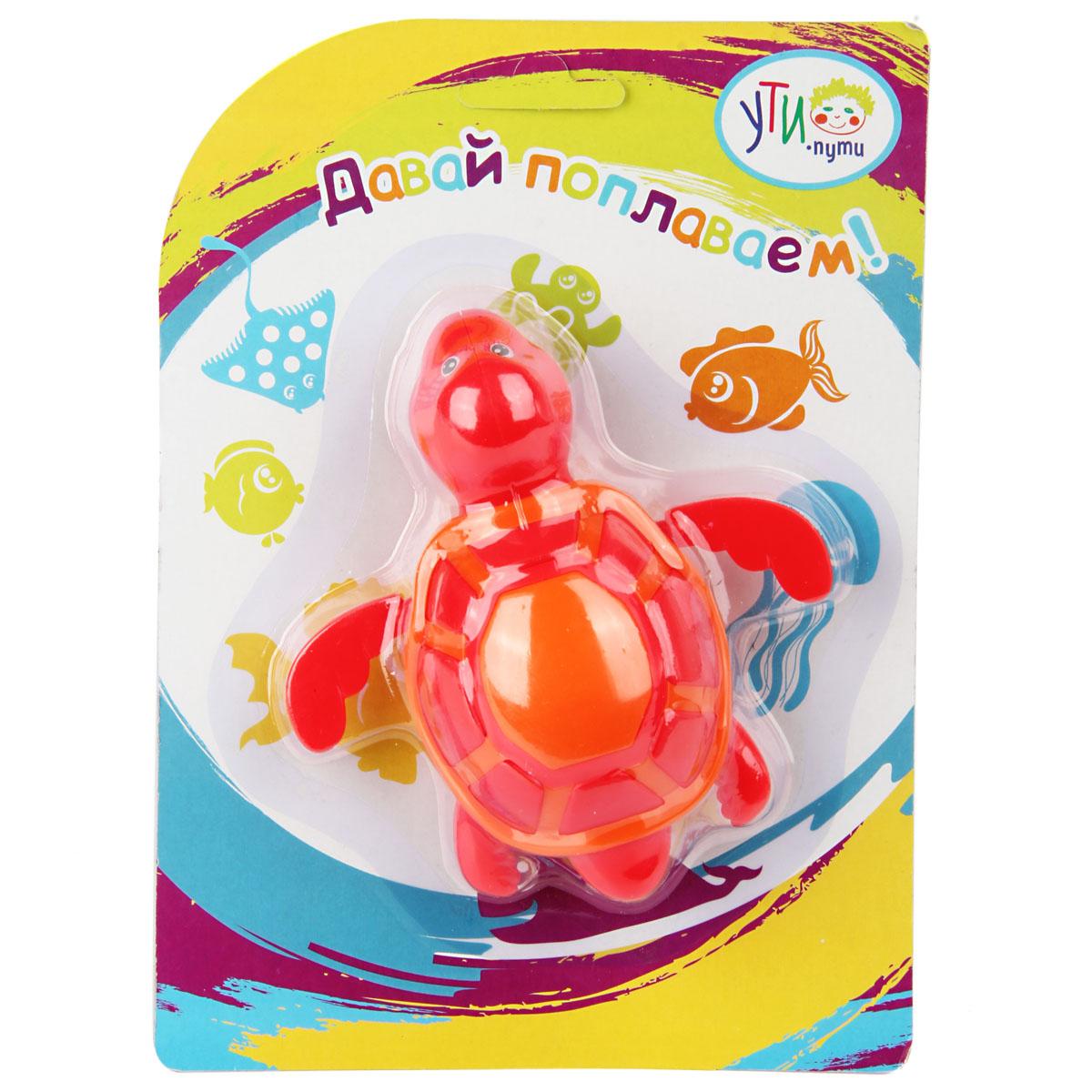 Игрушка для ванны Ути Пути Черепашка развивающий коврик ути пути цветущий сад