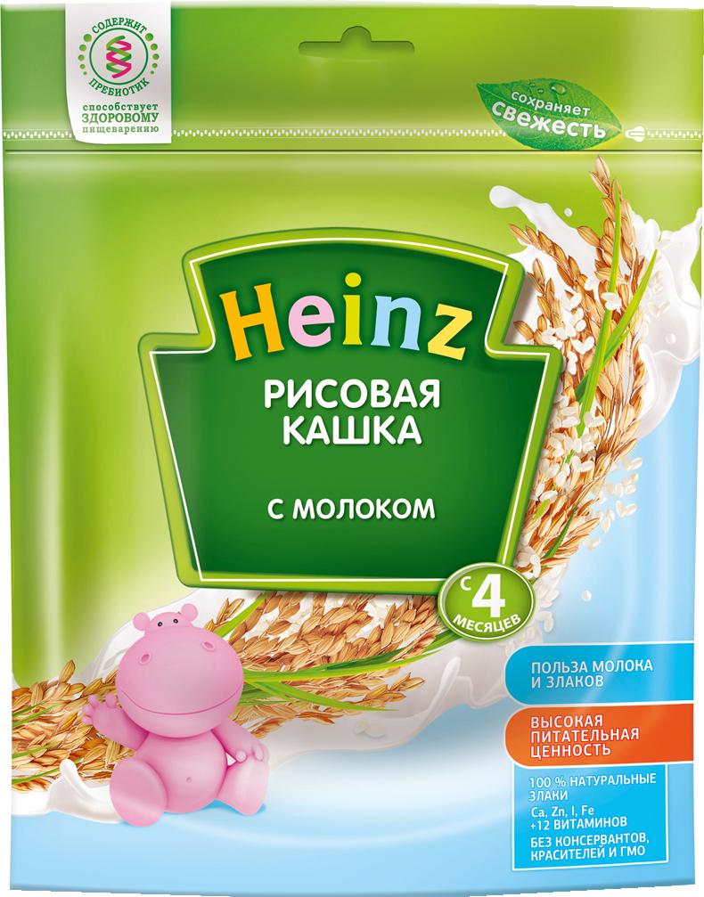 Каша Heinz Heinz Молочная рисовая (с 4 месяцев) 250 г heinz cоус томатный чили 250 мл
