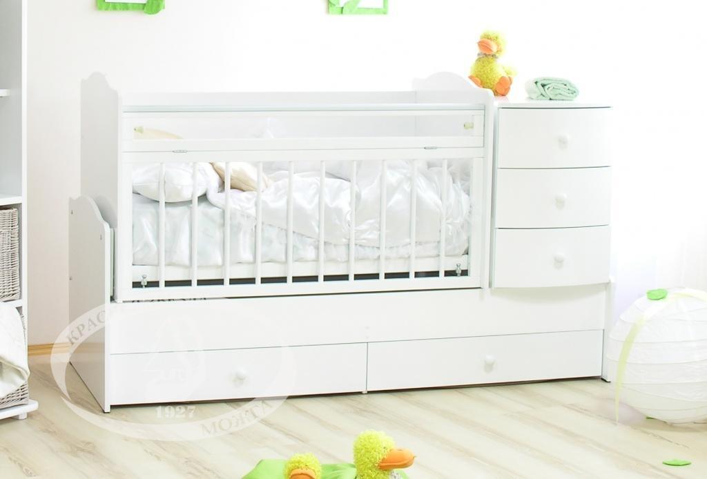 Кроватки детские Можга Кирюша С859