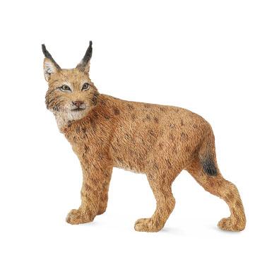 Фигурки животных Collecta Фигурка Collecta «Рысь» 8 см цены онлайн