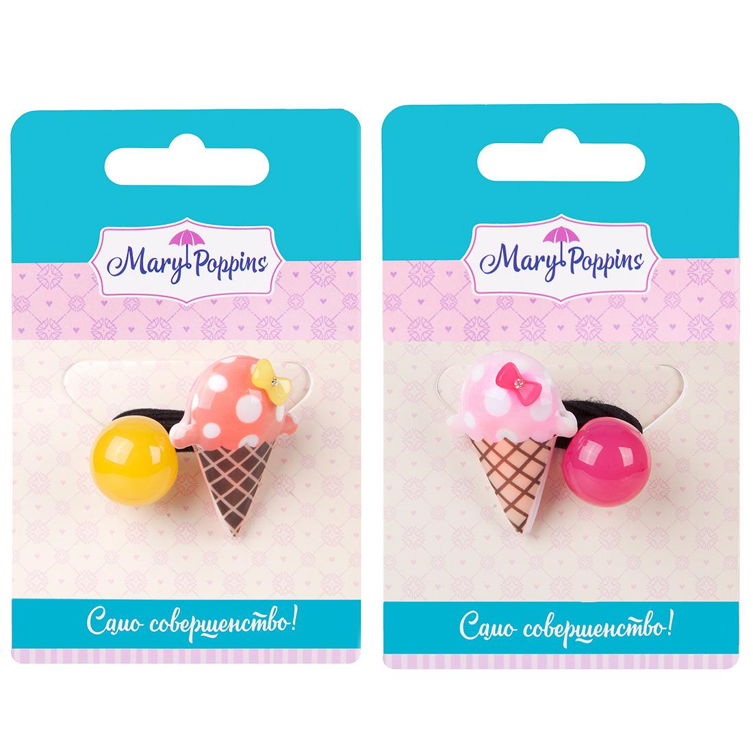 цена на Резинка для волос Mary Poppins Мороженое