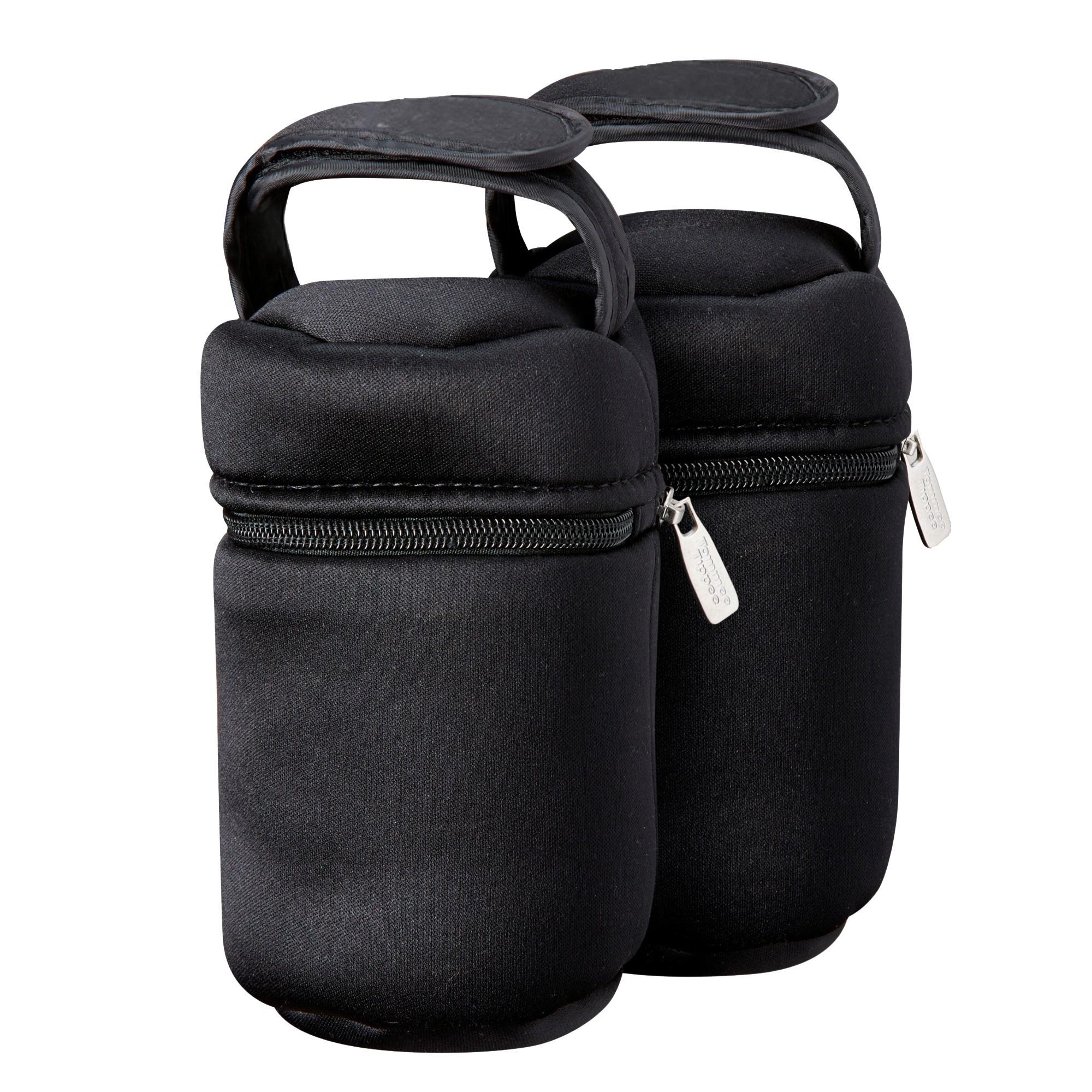 Купить Путешествие с ребенком, Термосумки для бутылочек Tommee Tippee 2 шт., Китай, black