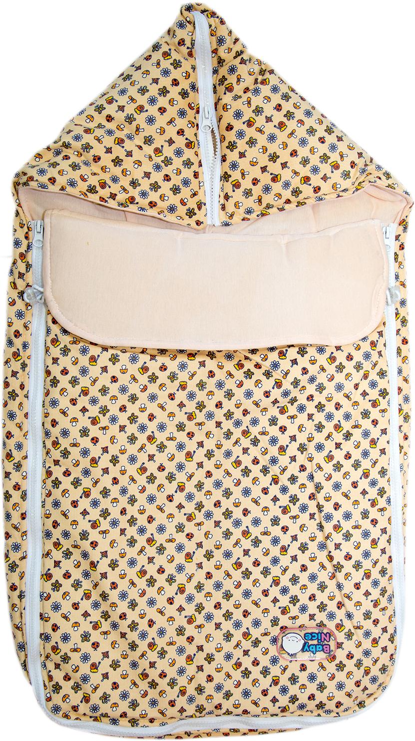 Конверт Baby Nice с меховой подкладкой конверт меховой baby elite alex коричневый