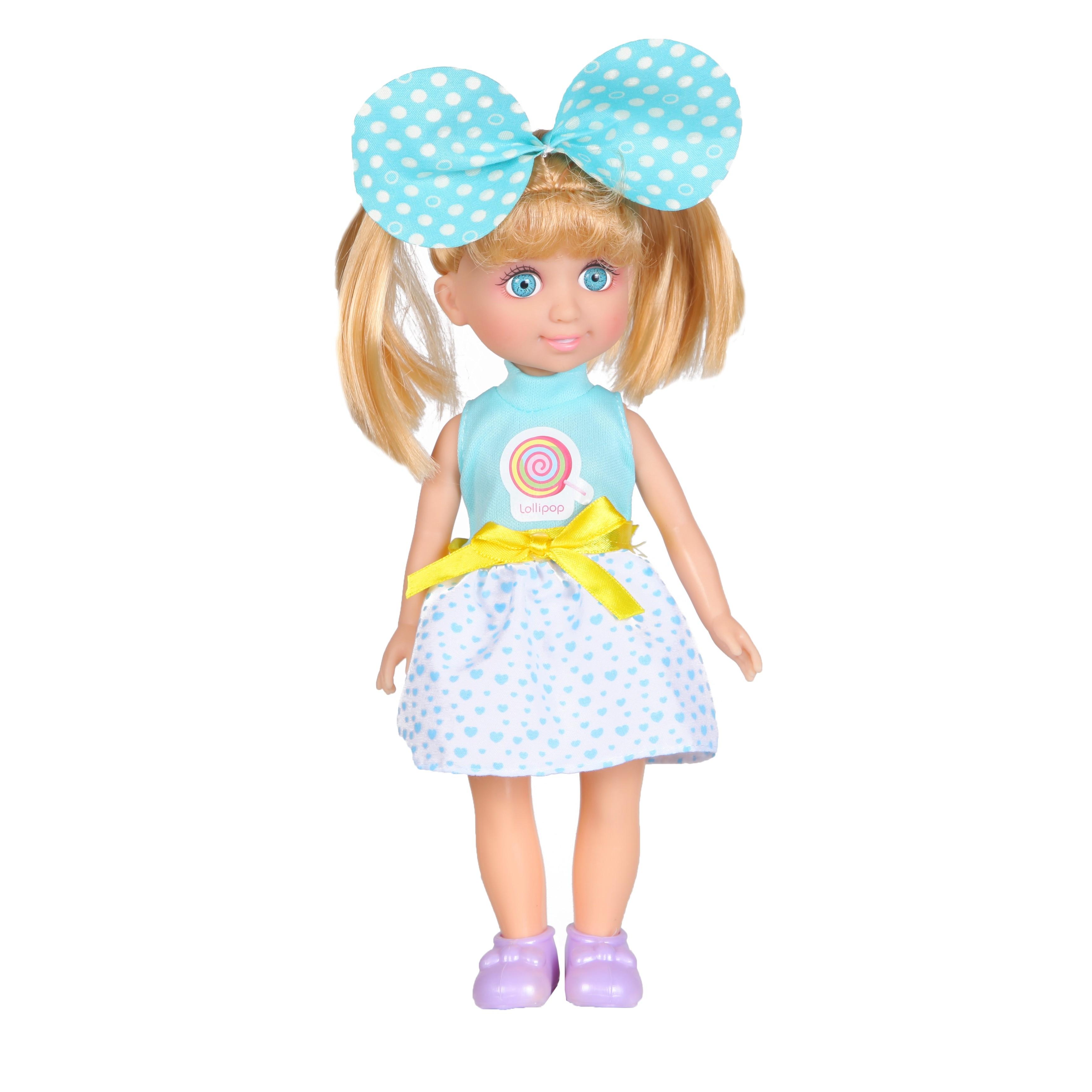 Кукла YAKO Jammy в голубом наряде кукла yako jammy доктор m6309