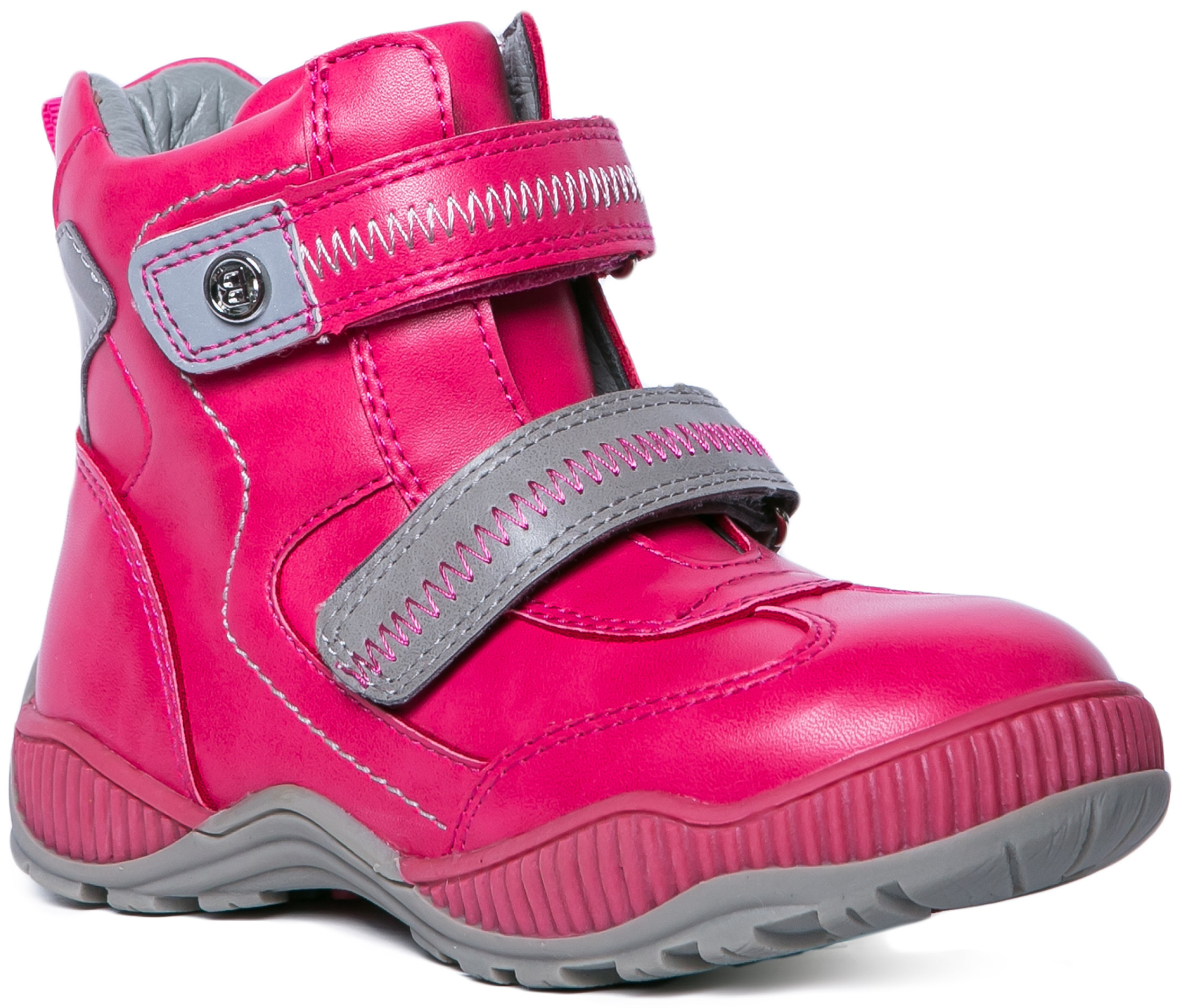 Ботинки и полуботинки Barkito Ботинки для девочки Barkito, фуксия ботинки longfield