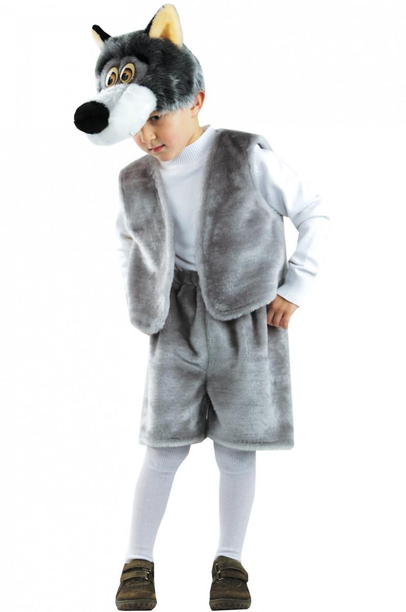 цена на Костюмы и маски Батик Карнавальный костюм Батик «Волк Прохор»