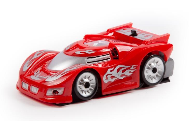 Машинка на радиоуправлении Mioshi Автомобиль Рэйсер, 12,5 см, красная автомобиль на пульте управления