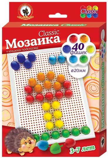 Мозаики Русский стиль Classic/Milk мозаика русский стиль мозаика classic тюльпан 160 элементов d 10 15 мм большая плата