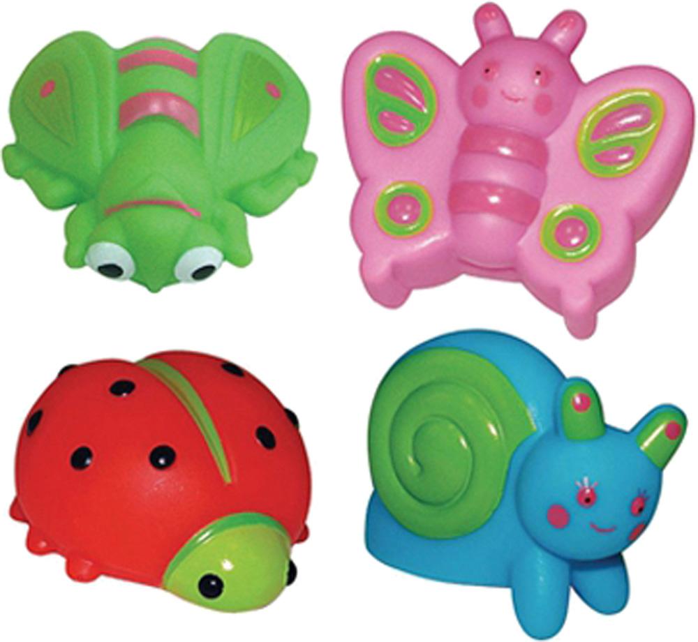 Игрушки для ванны ПОМА На лужайке игрушки для ванны пома кубики учим буквы