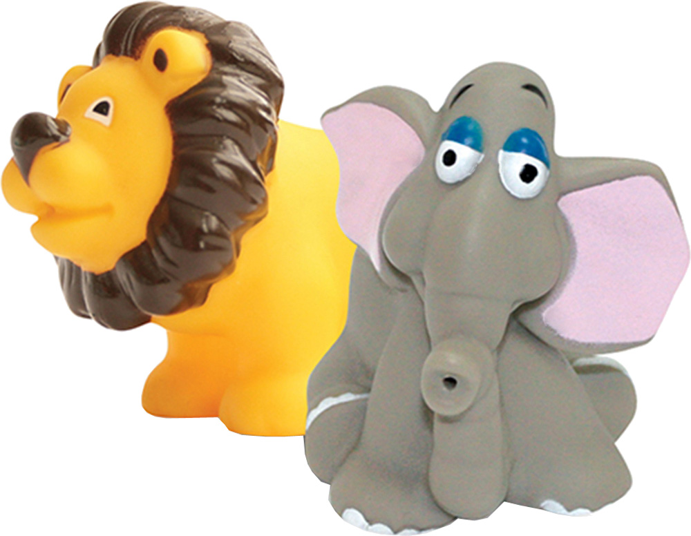 Детские игрушки для ванной LUBBY Маленькая Африка