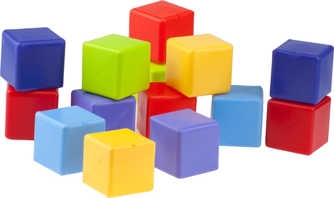 Набор кубиков РосИгрушка «Мини» 14 шт набор игрушек для ванны росигрушка утка и утята