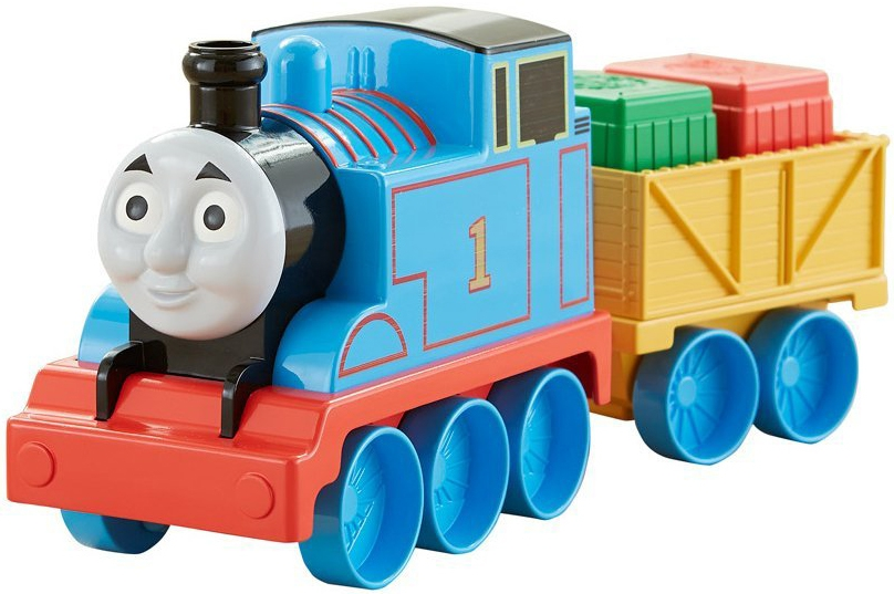 Thomas & Friends Thomas&Friends Trackmaster Первый паровозик малыша playway to english