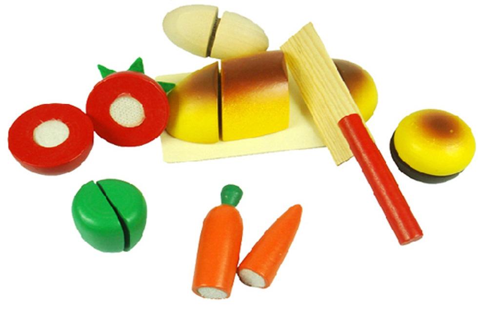 Деревянные игрушки Фабрика Фантазий Игрушка Фабрика фантазий «Вкусный завтрак» деревянная