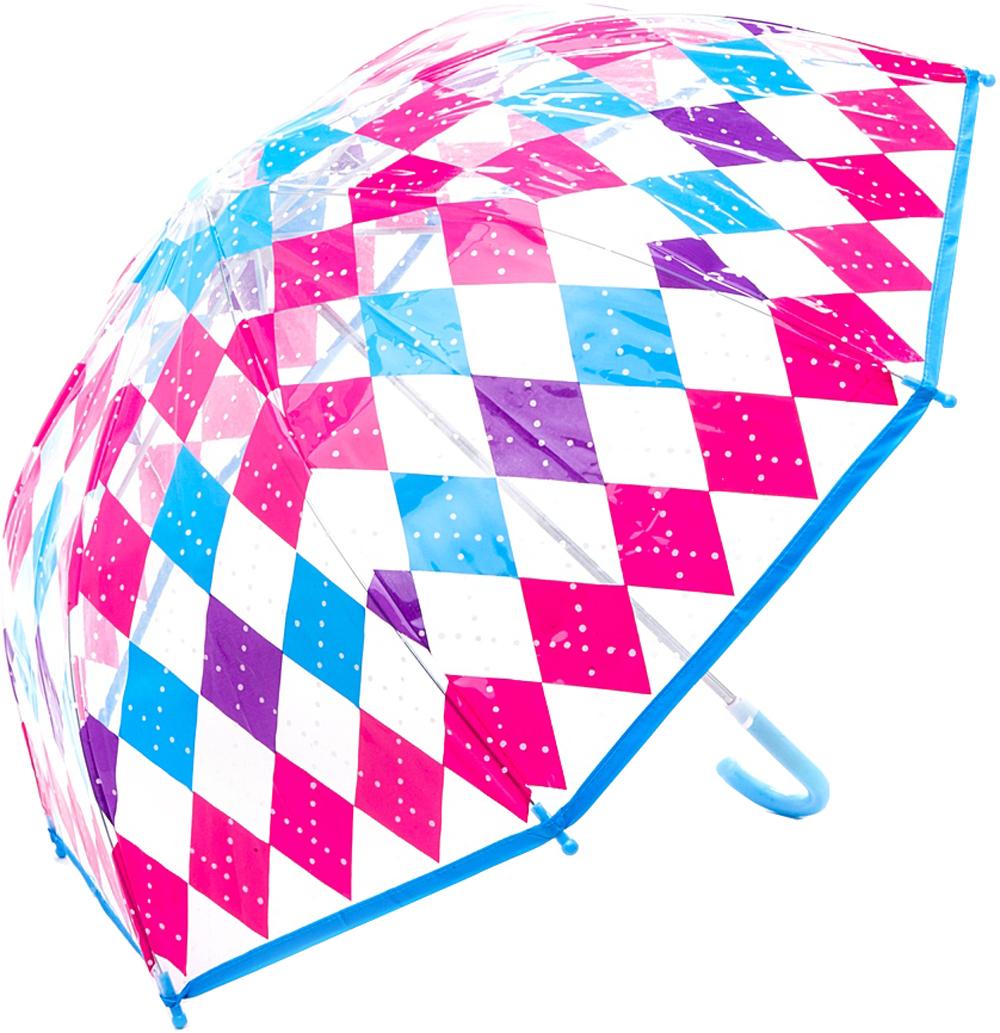 Купить Зонт, Классика, 1шт., Mary Poppins 53518, Китай, розовый, фиолетовый, синий, голубой, Женский