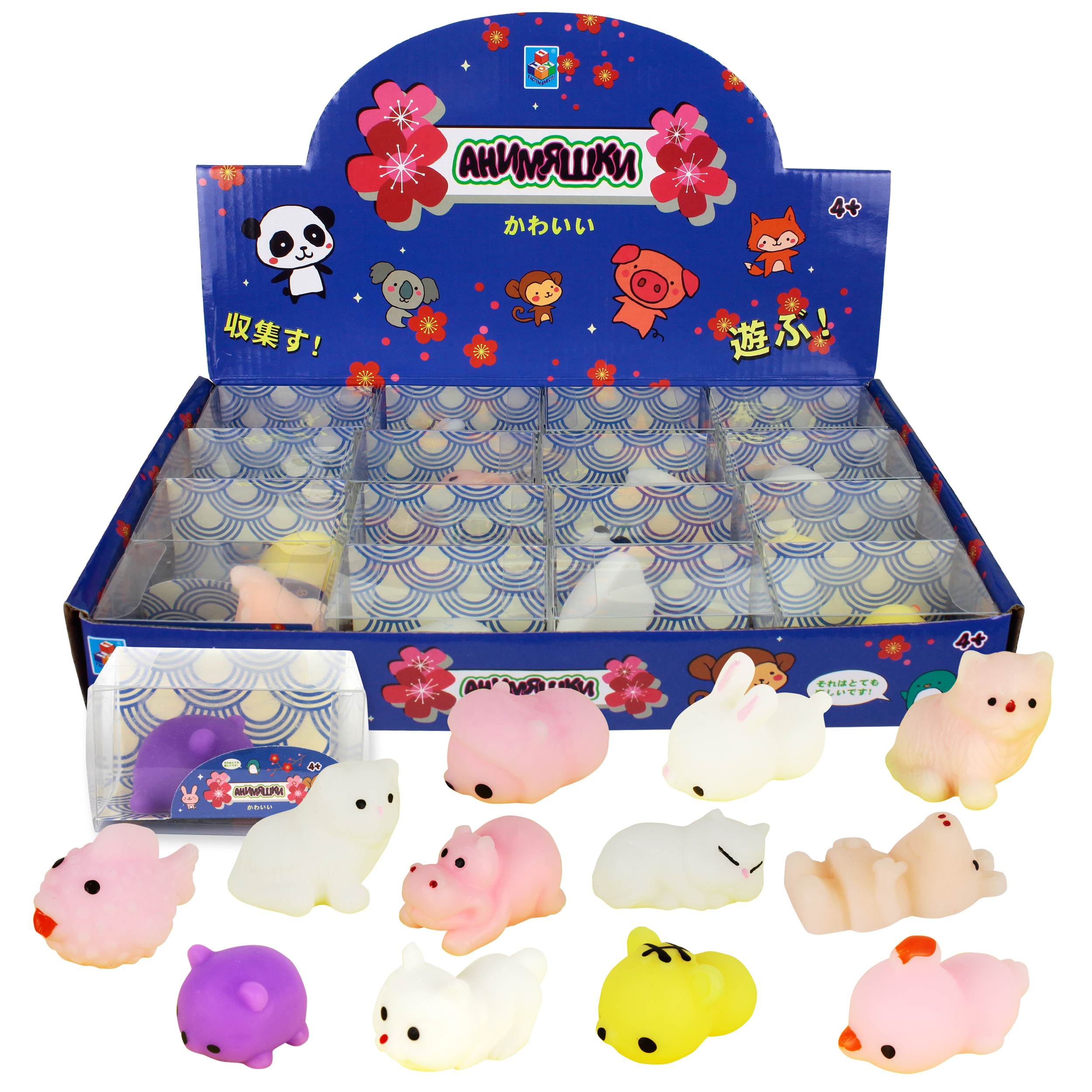 Игрушки-антистресс 1toy Анимяшки. Животные военные игрушки для детей gaming heads 1 4