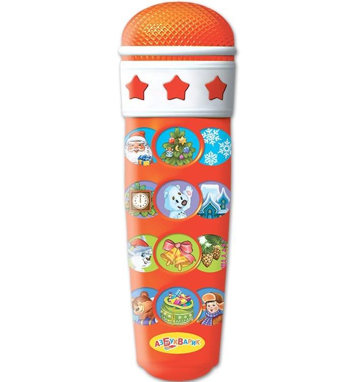 Купить со скидкой Интерактивная игрушка Азбукварик «Караоке Новогоднее»