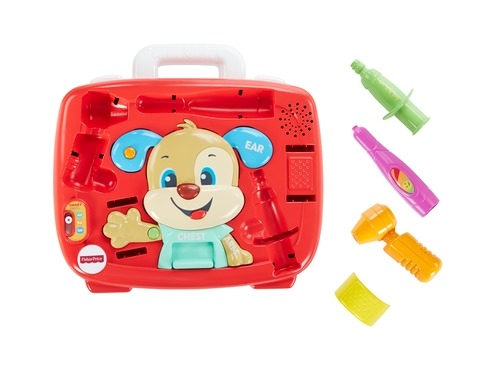 цена Игровой набор Fisher Price Медицинский набор Ученого Щенка онлайн в 2017 году