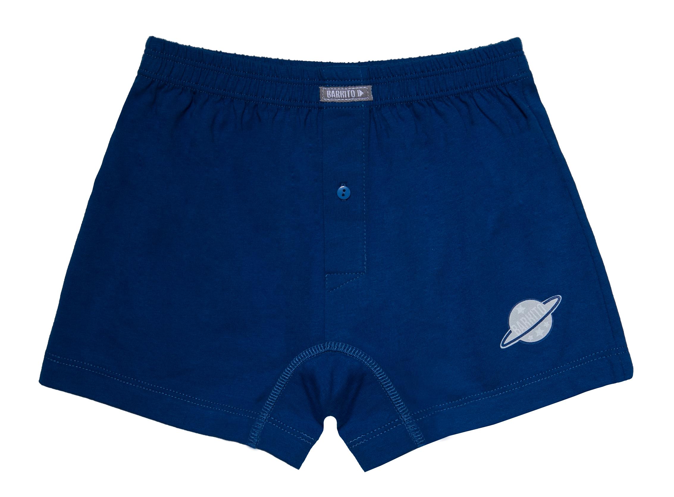 Купить Трусы для мальчика, 2 шт., Barkito, синие, темно-синие, Россия, blue, Мужской